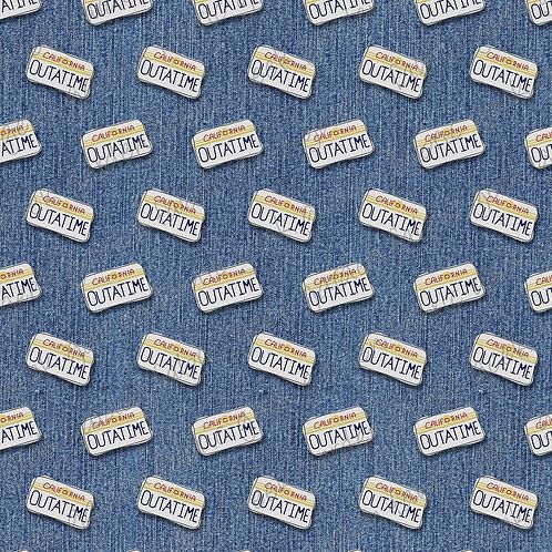 outatime Fabric Cotton Lycra Woven RETAIL