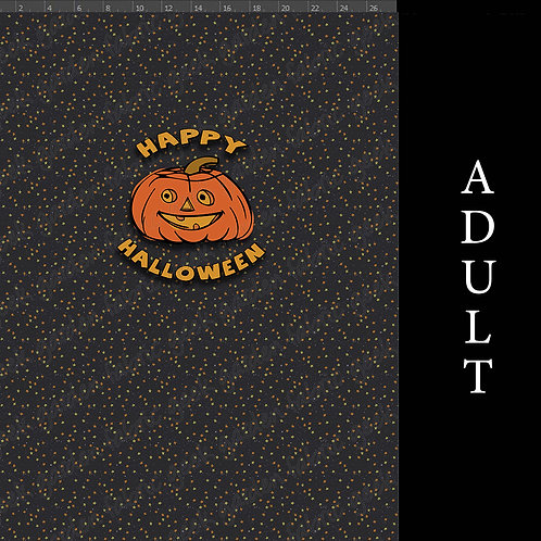 HAPPY HALLOWEEN Panel CL - CW - FRENCH TERRY  Big Kid - Adult
