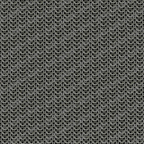 Small scale Chainmail Fabric Cotton Lycra Cotton Woven swim retail