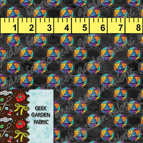 How I Roll Micro scale Fabric RETAIL Cotton Lycra Woven Vinyl