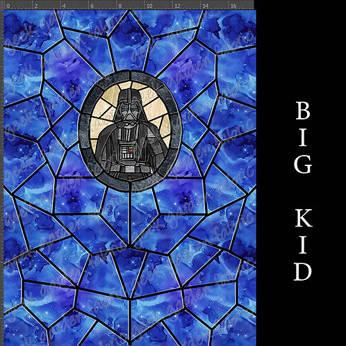 Father panel stained glass Adult or big Kid cotton woven Cotton Ly