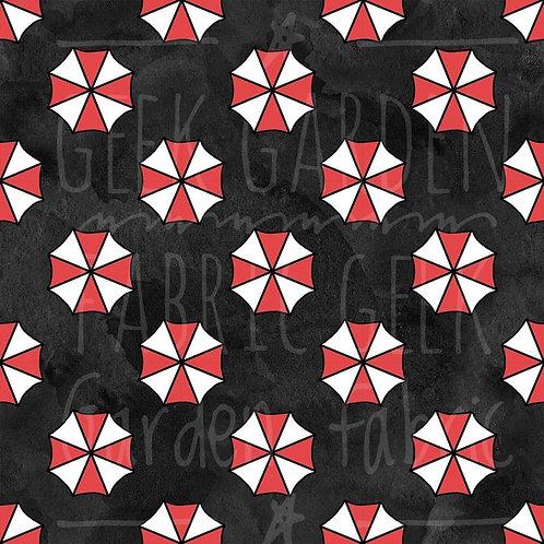 U Corp Logo Fabric Cotton Lycra Woven Retail