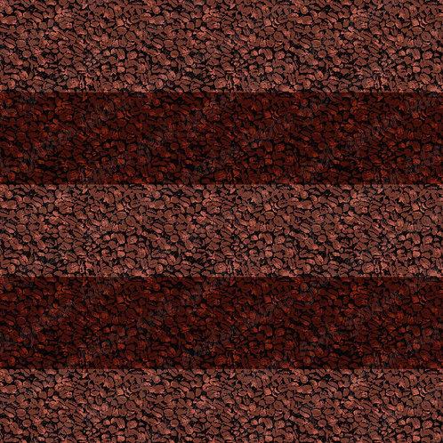 Coffee bean stripe Fabric RETAIL Cotton Lycra Woven Vinyl