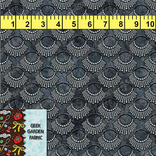 I Dissent Micro scale stained glass Fabric RETAIL Cotton Lycra Woven Vinyl
