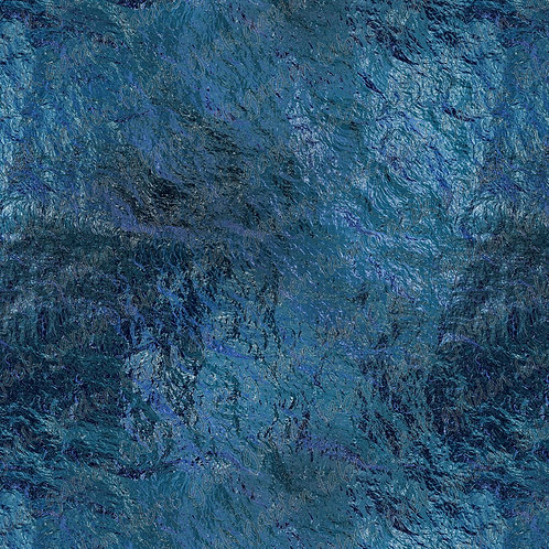 Midnight Glass P stained glass Fabric Cotton Lycra Woven fluff