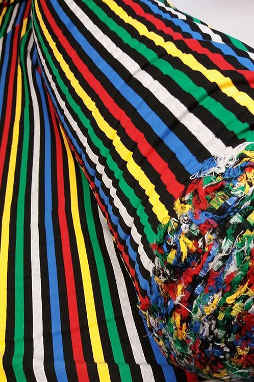 Potter Stripe yarn dyed stripe 200 gsm Cotton Lycra BTY RETAIL