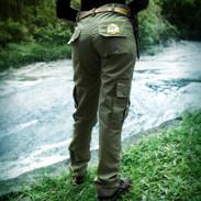 calça feminina verde militar