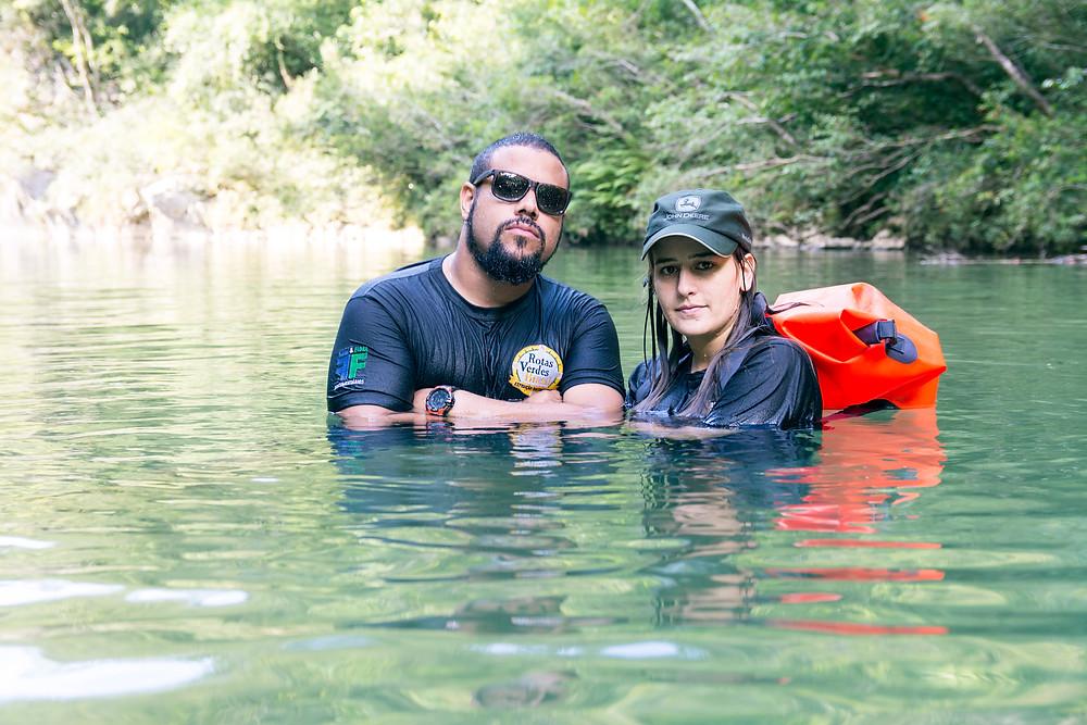 Fernando Lara e Júlia Machado - Foto: Jair Moreira