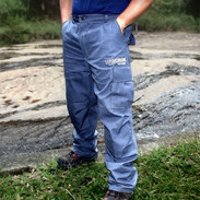 calça masculina cinza