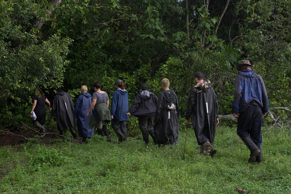 Conhecendo os pontos de acampamento e observação - Por Fernando Lara