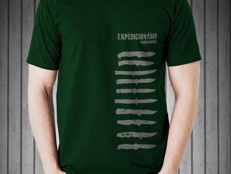 Camisetas Expedicionário Profissional