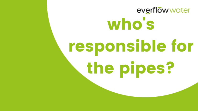 Who's responsible for the pipes?