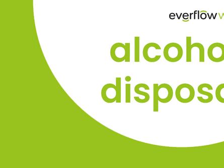 alcohol disposal