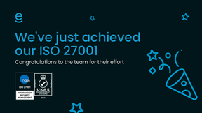 We've achieved our ISO 27001
