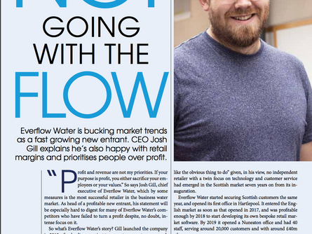 Everflow Group CEO Josh Gill sits down with The Water Report