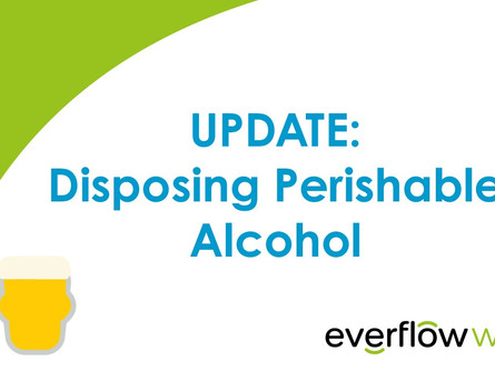 Update: What to do with your disposable perishables