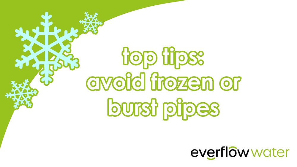 Avoid frozen or burst pipes this winter