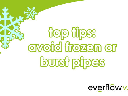 Preparing your pipes for the winter months