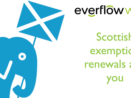 Scottish exemptions and you