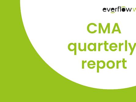CMA quarterly report