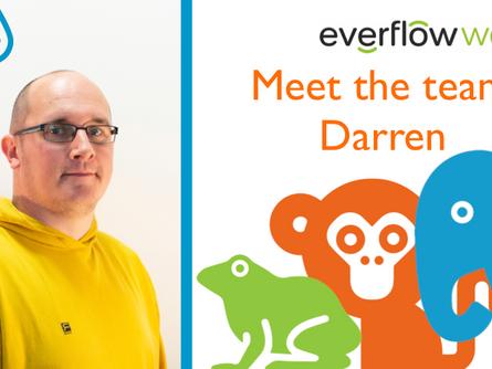 Meet the team: Darren English, Meter Read Analyst