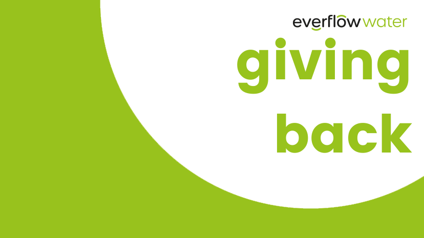 Giving Back - Everflow Water