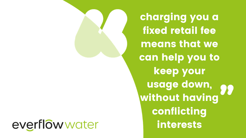 Fixed retail fee information from Everflow Water