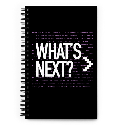 Limited Edition Echo What's Next Notebook