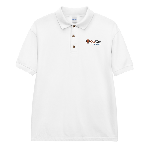 Men's SoilFloc Embroidered Polo