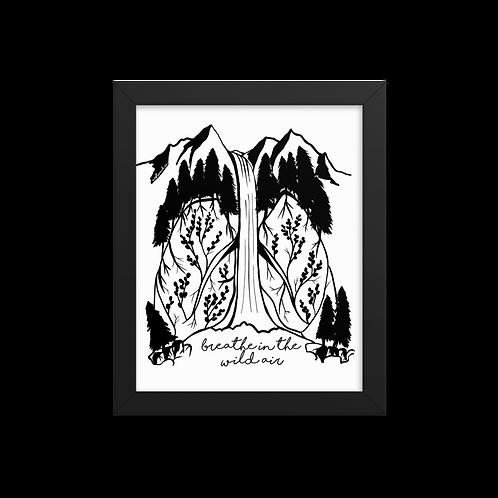Wild Air Framed Print