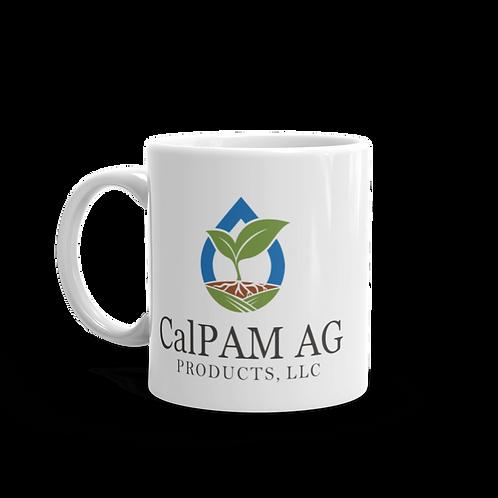 CalPam White Glossy Mug