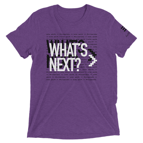 Limited Edition What's Next Echo Tee