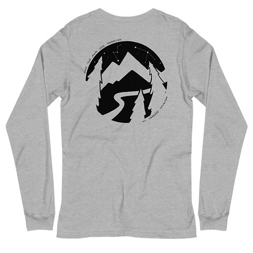 Road Less Travelled Long Sleeve Tee