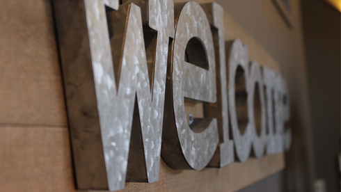 3D wall signage