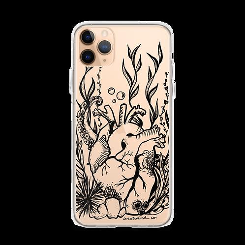 Saltwater Heart iPhone Case