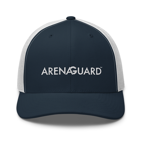 ArenaGuard Embroidered Trucker Cap