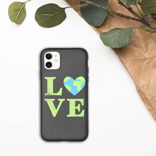 Love Earth Biodegradable iPhone Case