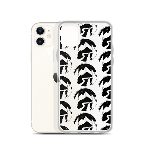 Road Less Travelled Pattern iPhone Case