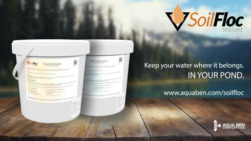 Aqua Ben SoilFloc Sealant Print Ad