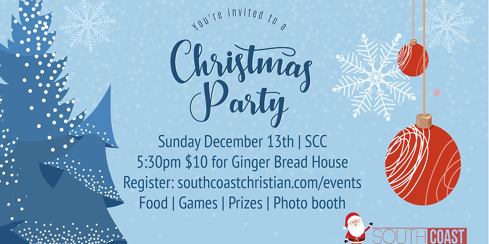 SCC Family Christmas Party