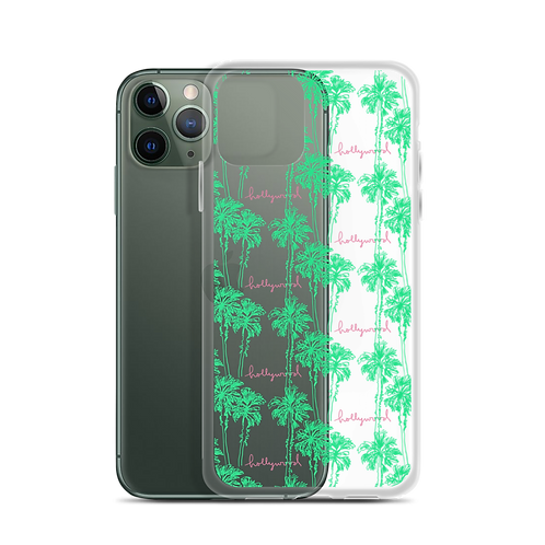 Hollywood Palm Neon iPhone Case