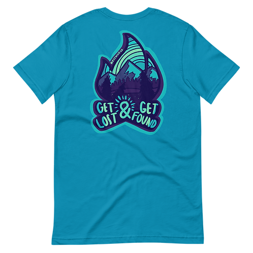Get Lost, Get Found - Fire and Ice Tee