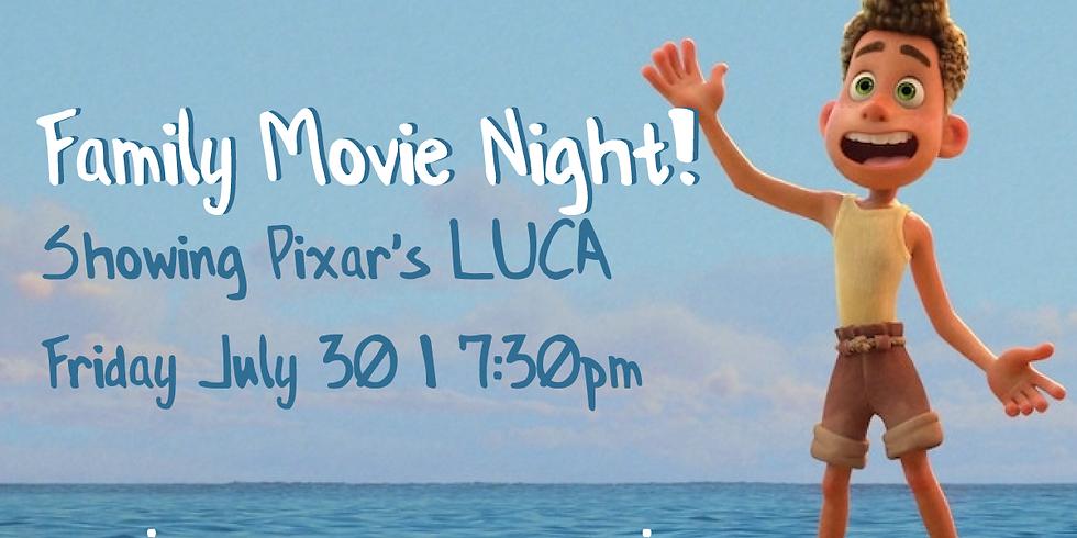 Family Movie Night   LUCA