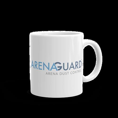 ArenaGuard White Glossy Mug