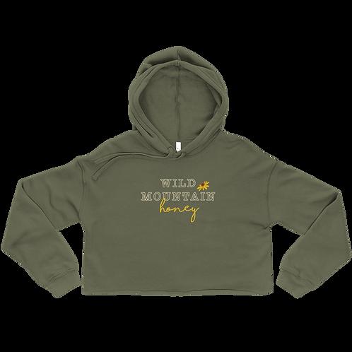 Wild Mountain Honey Ladies' Crop Hoodie