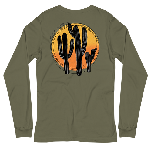 Cactus Sunset Long Sleeve Tee