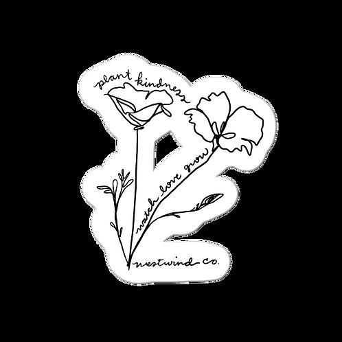 Watch Love Grow Sticker