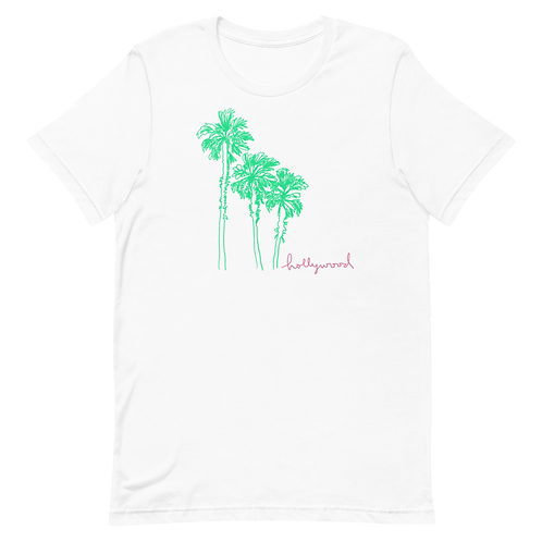 Hollywood Palm Tee