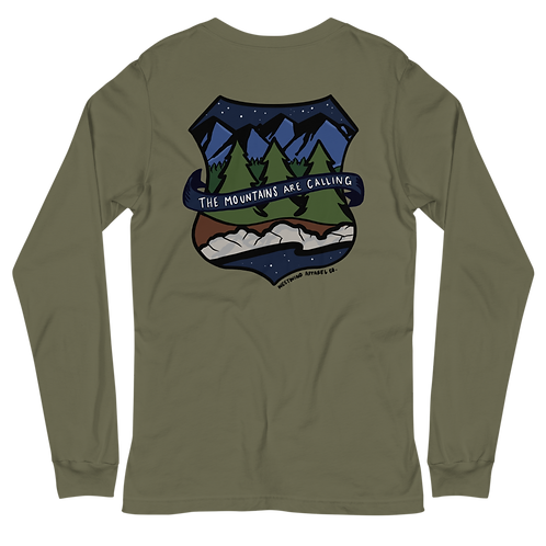 Mountains Calling Long Sleeve Tee