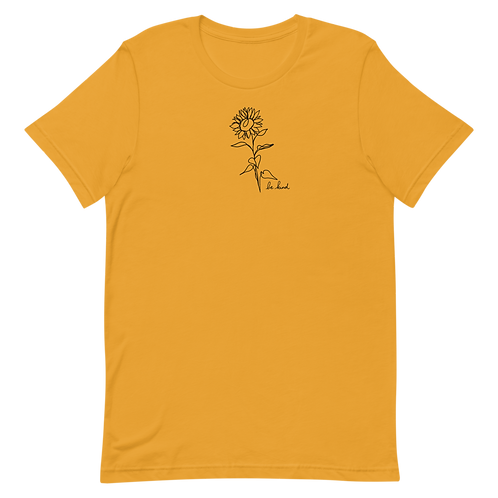Be Kind Sunflower Tee